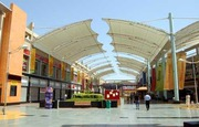 Tensile Structure For Shopping Mall