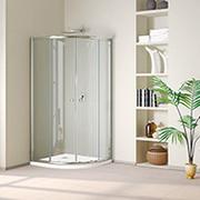 Custom,  Sliding,  Frameless Glass Shower Doors,  Enclosure,  Cubicle