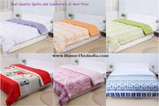 Buy Quilts and Comforters Online from House This - Home Decor Store