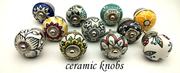 Ceramic Knobs | Ceramic Knobs for door at decokrafts