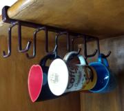 Mug Holder Under Cabinet Hanging Holder.