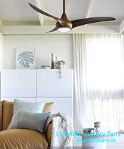 Luxaire Designer Fan with light