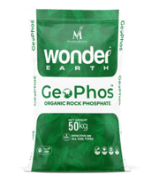 Buy best rock phosphate online:  Wonder Earth GeoPhos at NM India Biot